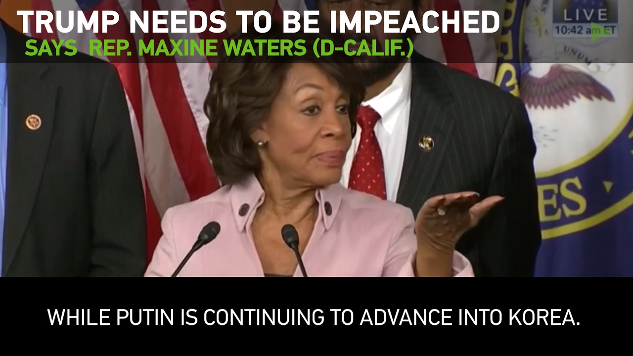 """an analysis of the congress rep maxine waters Representative maxine waters (d-ca) is vowing to reverse president trump's """"tax scam"""" should democrats gain control of congress waters also credited former president obama for the country's economic success."""