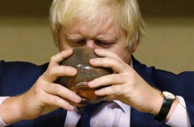 Boris Johnson Ed Sheeran