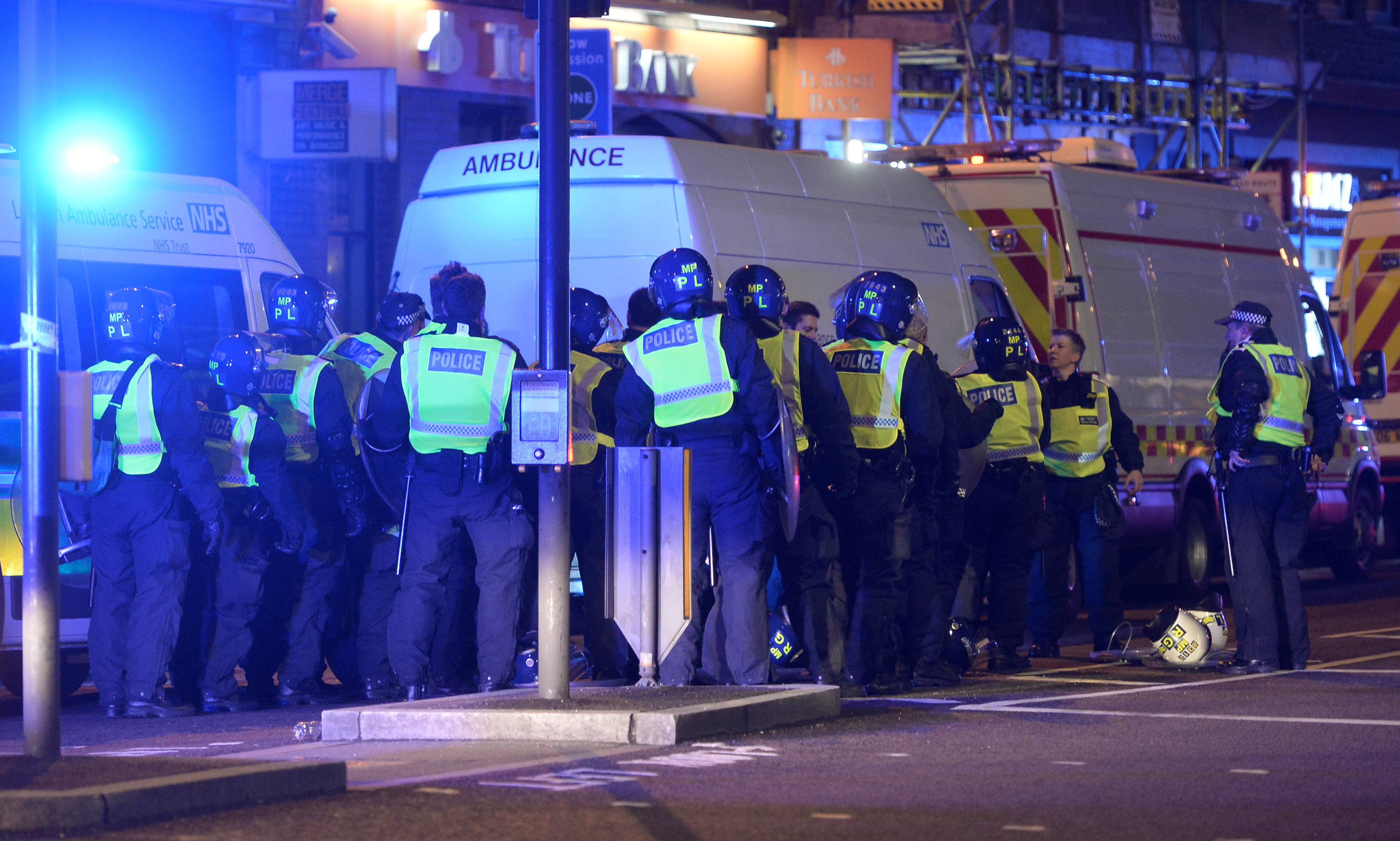 Terrorist offensive against London on eve of the election
