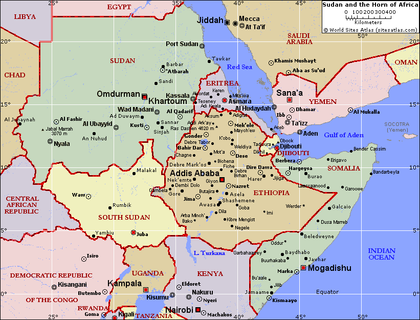 The Horn of Africa + Sudan are replacing the Middle East ...