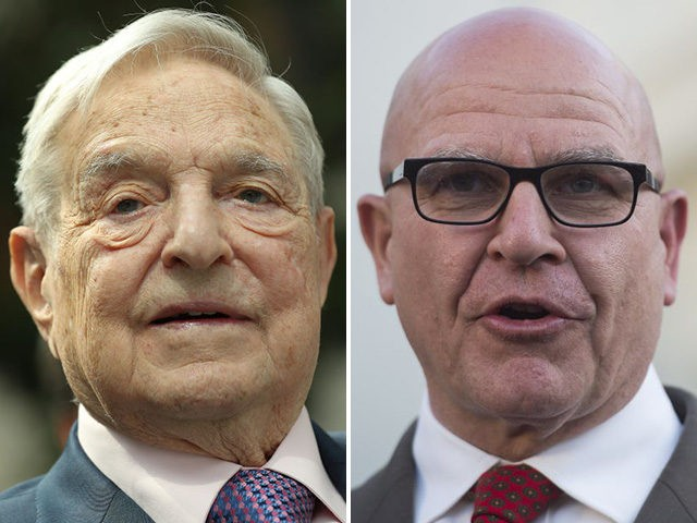 "NSA's McMaster ""authorized surveillance of Bannon and Trump family.""  Intel sent to George Soros"